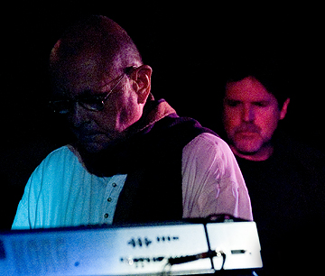 Roedelius & Story (photo-jeff towne)