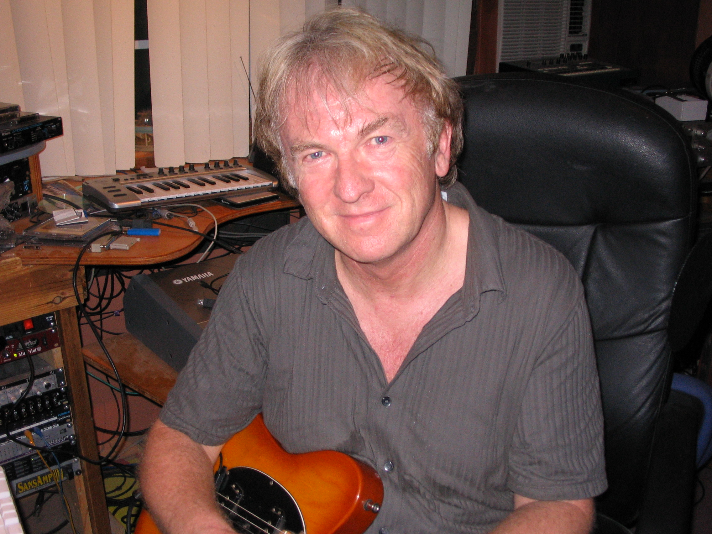 Clive Wright in Studio
