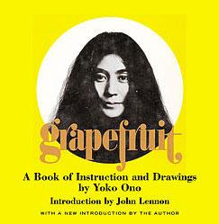 Yoko Ono's Grapefruit
