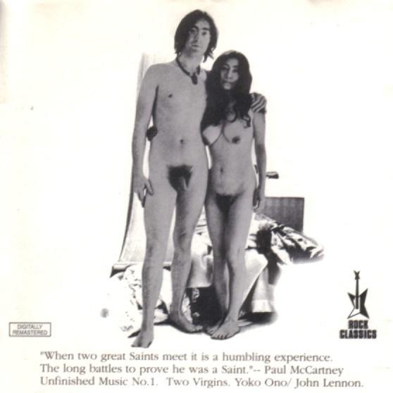 """John Lennon & Yoko Ono """"Two Virgins"""""""