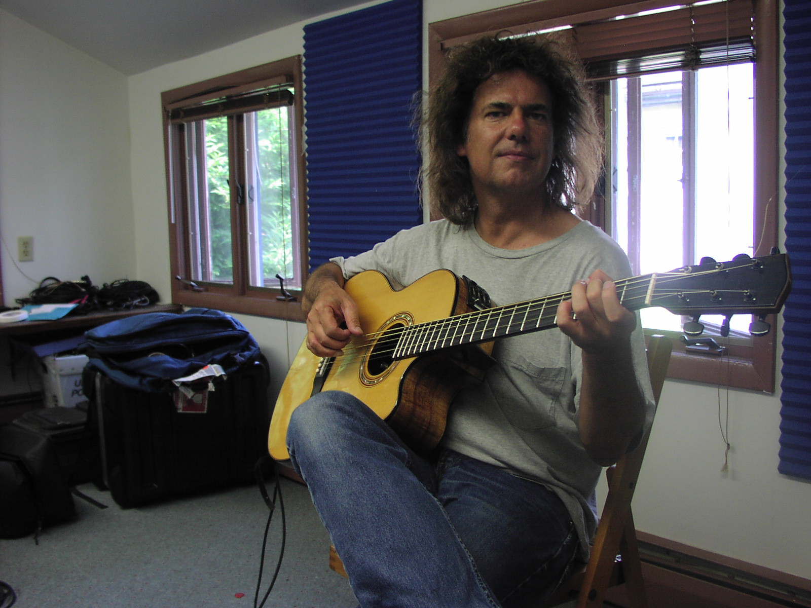 Pat Metheny in Old Echoes Living ROom