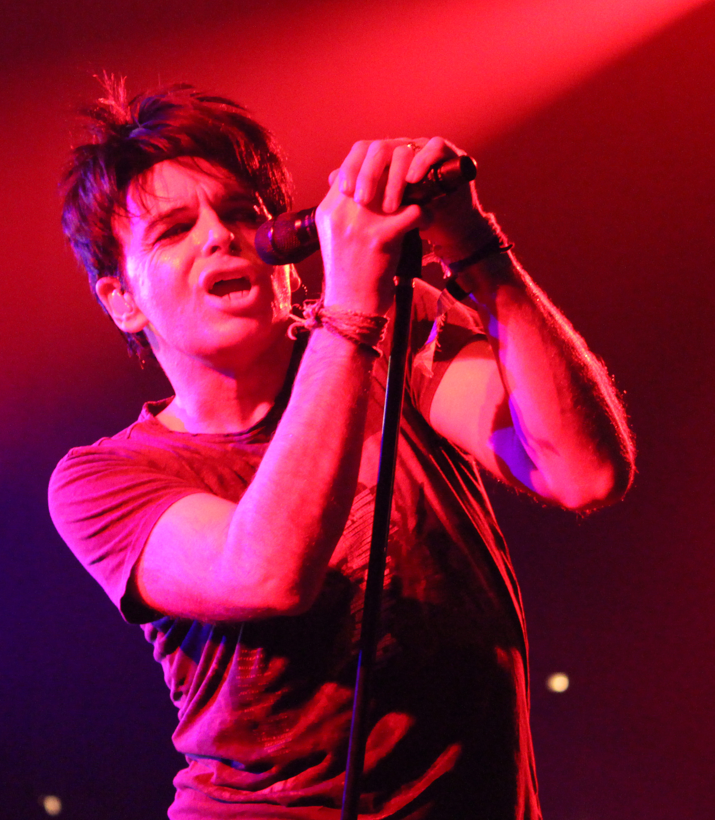 Gary Numan Croonin' @ MOEMS Photo: Diliberto