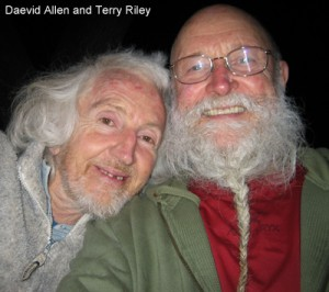 Daevid Allen & Terry Riley in Later years.