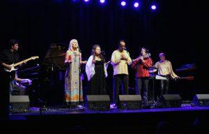 Darlene Kodenhoven, Jennifer Zulli, Paul Avgerinos, Ron Korb, Jonn Serrie at ZMR Awards Show