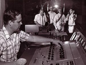 Jack Miller at the Recording Console