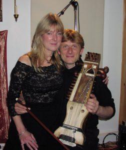 Rasa-Kim Waters & Hans Christian in 2000
