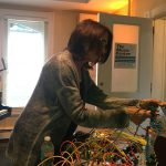 Suzanne Cinai playing Buchla Synthesizer on Echoes