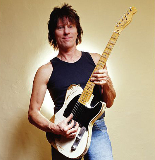 Jeff Beck and Telecaster